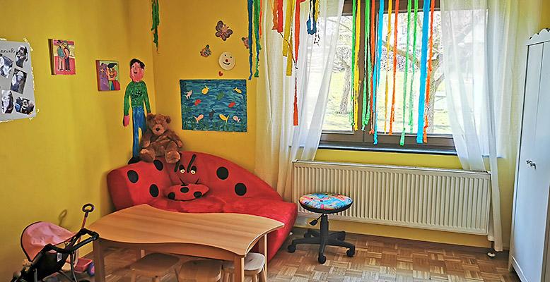 Mal- und Bastelzimmer Marienkäfer
