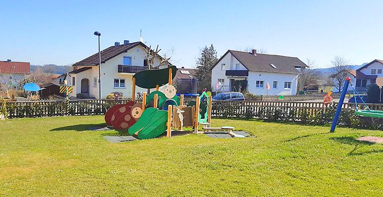 Spielplatz Marienkäfer